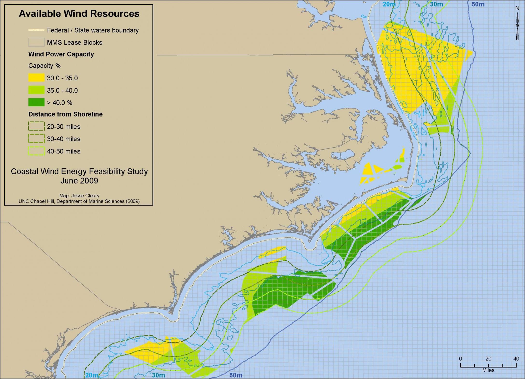 Coastal Wind Resources