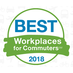 Best Wrokplace for Commuters 2018