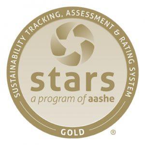 AASHE STARS Gold logo