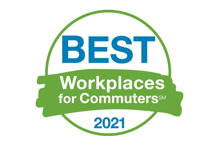 Best Workplaces for Commuters 2021 Logo